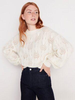 Knitted jumper - Off White